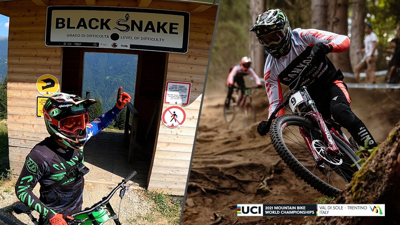 , Troy Brosnan – Black Snake Track – Val Di Sole World Championship 2021