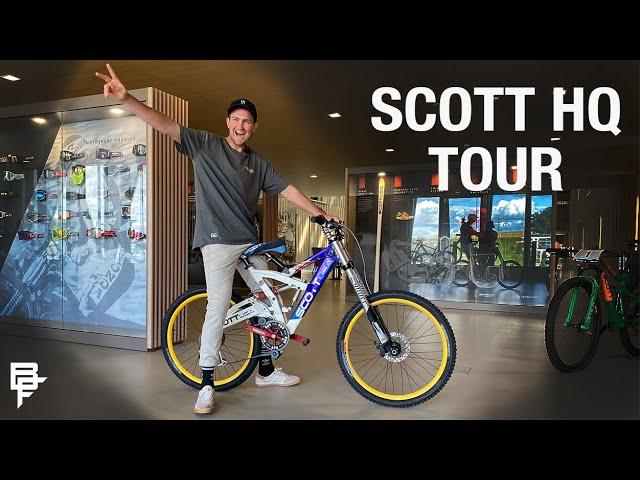 , Scott Sports HQ With Brendan Fairclough