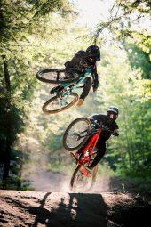 , Stark & Nell send it at Highland Bike Park
