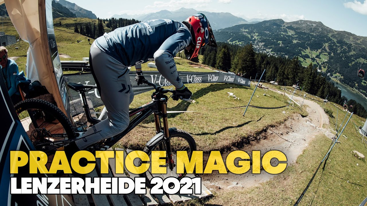 , Lenzerheide World Cup Downhill Practice