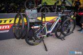 , Brad Copeland's Custom E-Ride Mechanic Scott Bike