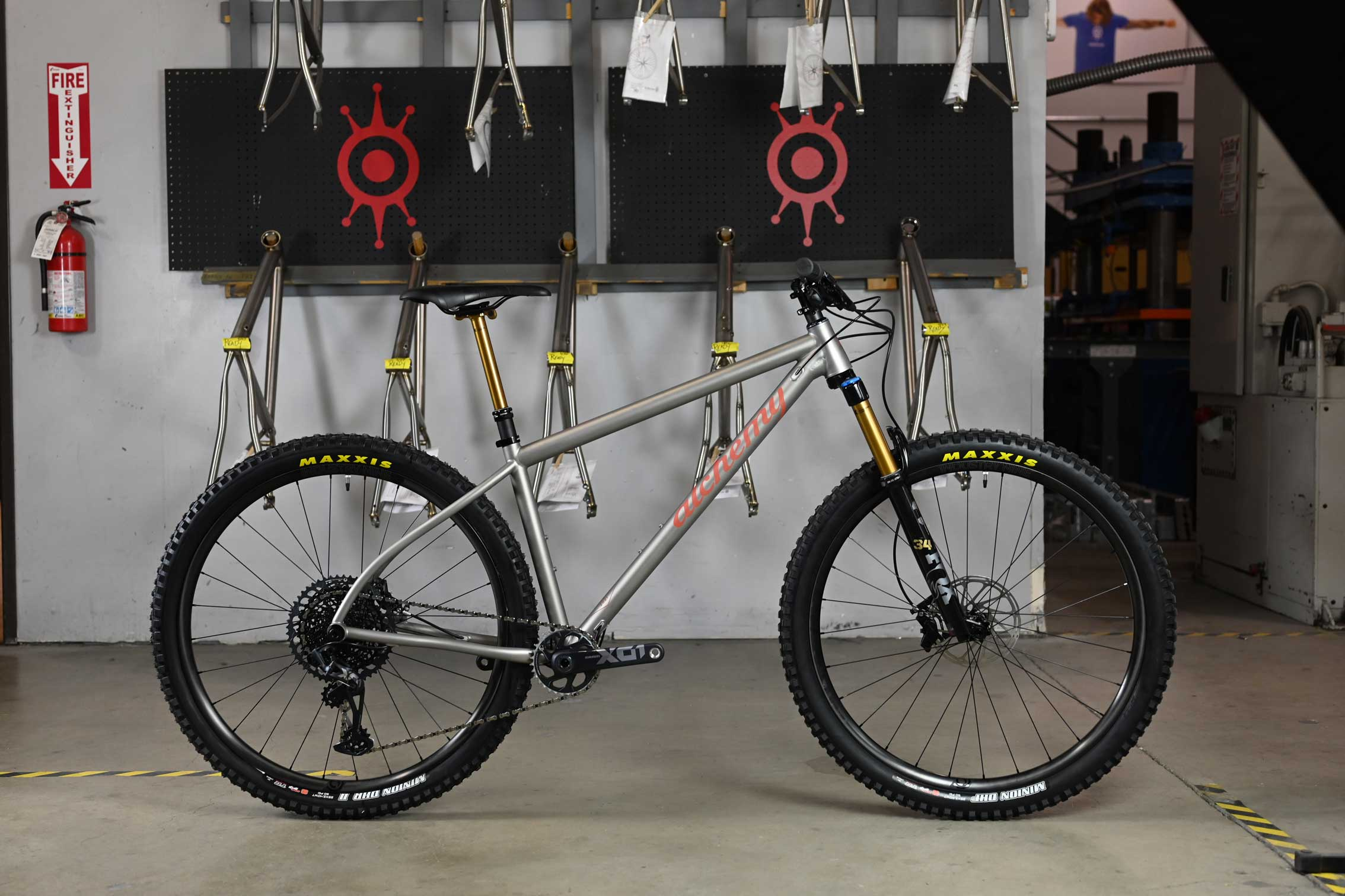 , Alchemy Updates for 2022 – New Flip Chip, Rogue Gravel Bike, Titanium Argos Hardtail