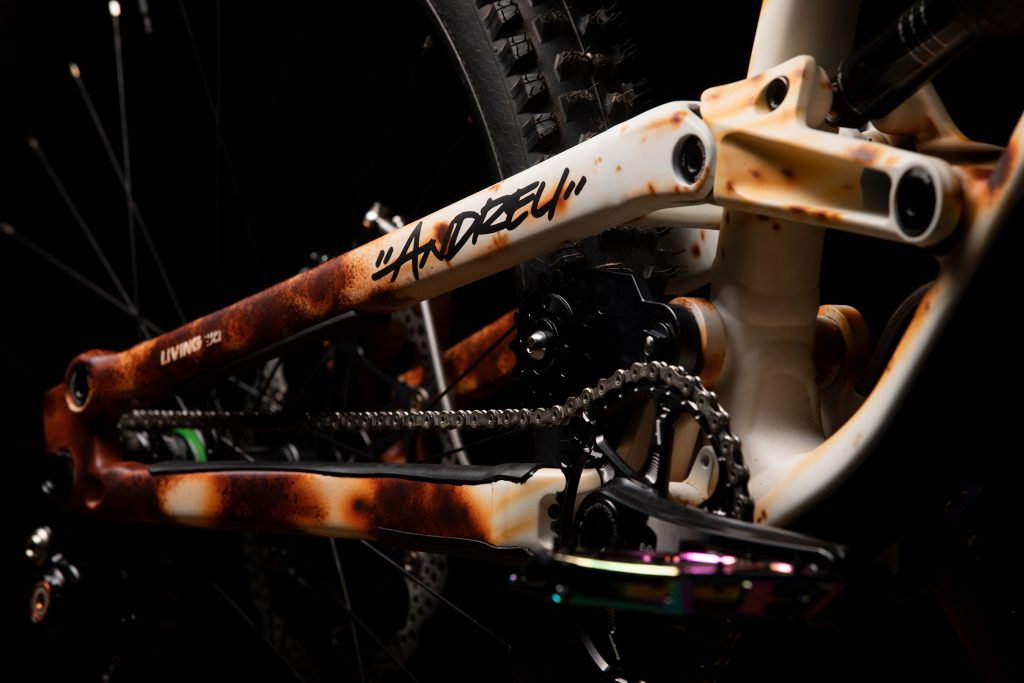 Andreu Lacondeguy's Commencal Red Bull Rampage Bike, Andreu Lacondeguy's Commencal Red Bull Rampage Bike