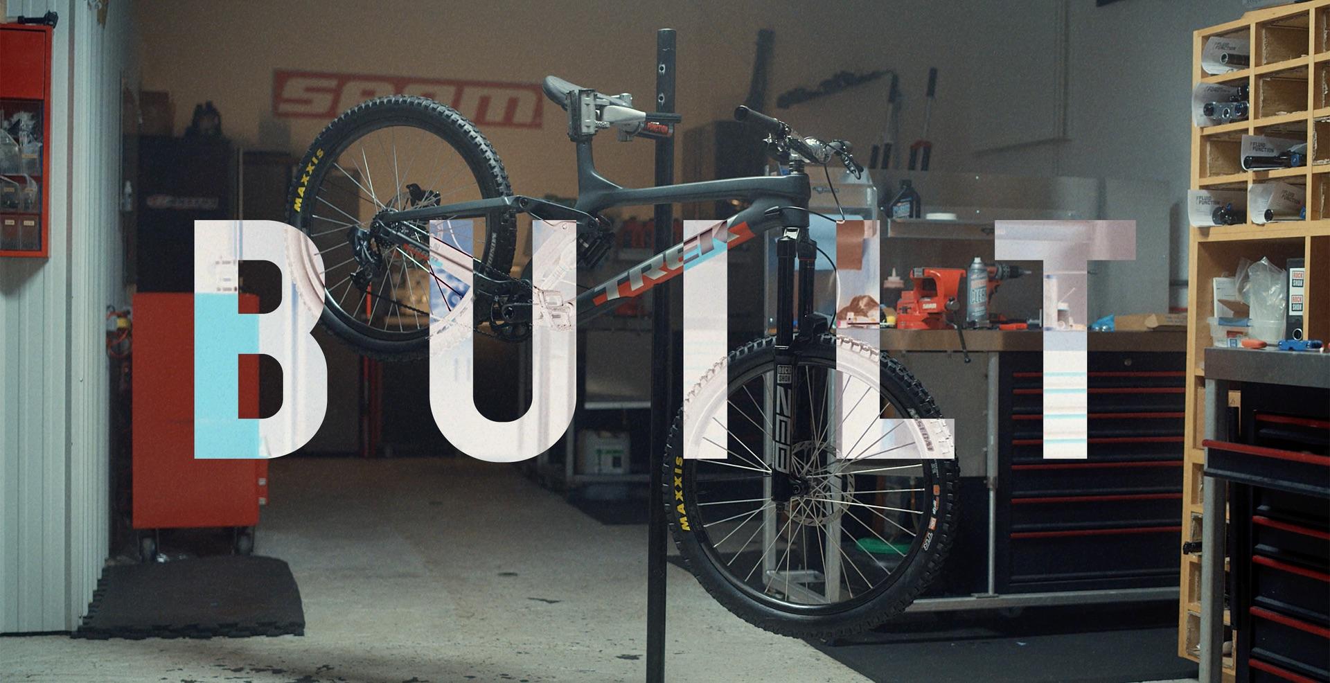 , Brandon Semenuk's Red Bull Rampage Bike