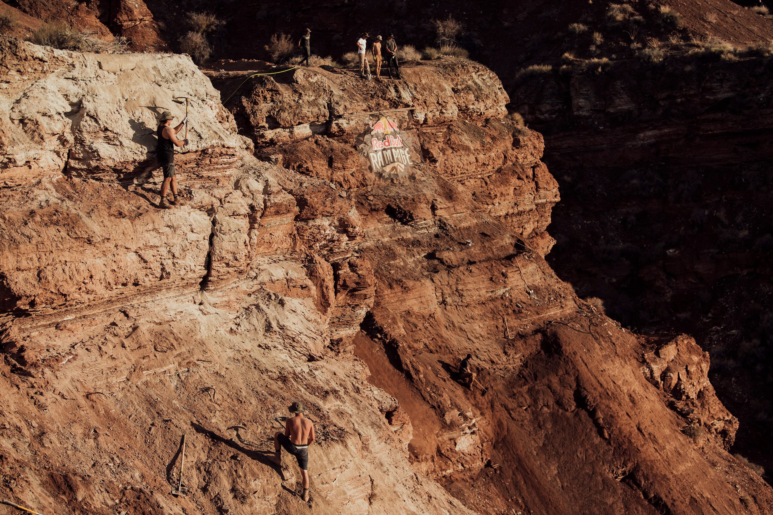 , Kyle Strait Dig Days At Red Bull Rampage