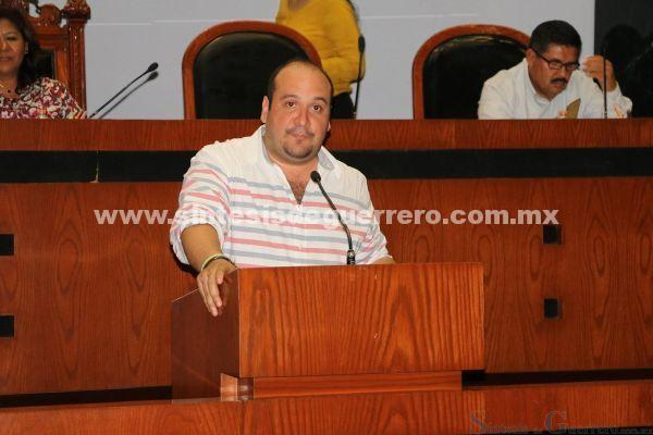 Exhorta Congreso Local a Evodio para que se abstenga de realizar campañas a favor de su grupo político