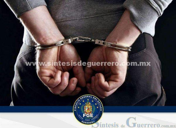 La Fiscalía General informa de la detención del problable responsable del homicidio de Demetrio Saldívar