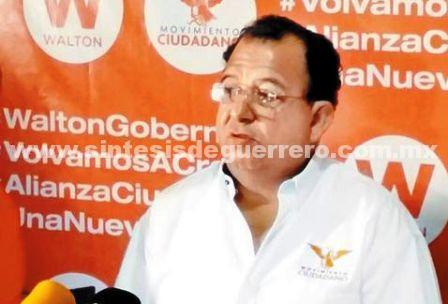 Condena Luis Walton ataques a periodistas en Guerrero y Sinaloa