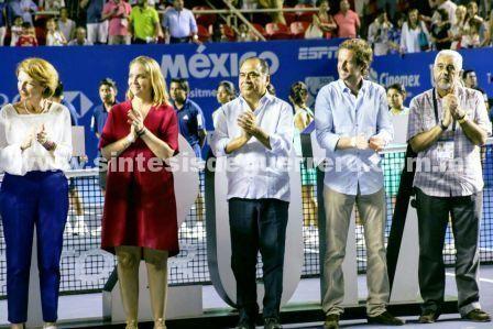 Ésta ha sido la mejor edición  del Abierto Mexicano de Tenis: Héctor Astudillo Flores