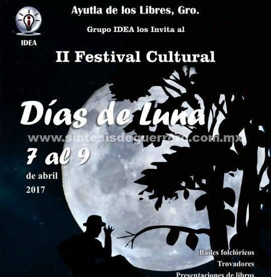 Se llevará a cabo en Ayutla el evento Días de Luna