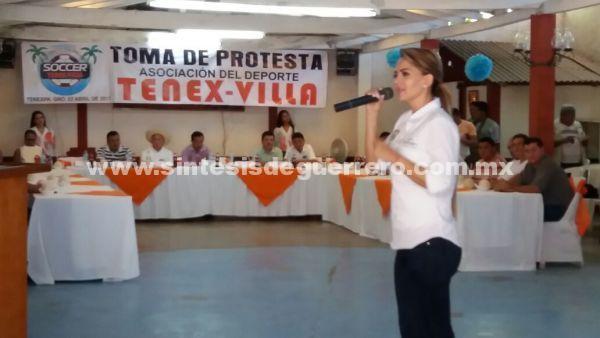No cumplió diputada Salomón Galeana sus promesas de campaña con deportistas, en Costa Grande