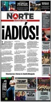 La inseguridad en México obliga a cerrar periódicos
