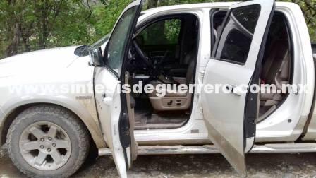 Aseguran arsenal en la sierra de Guerrero