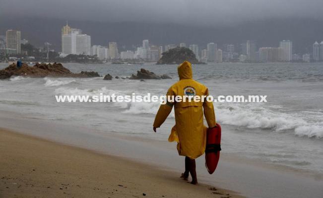 Se pronostican lluvias ligeras en Acapulco durante las próximas horas