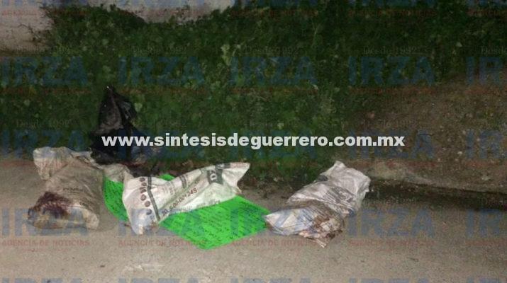 Hallan restos de dos hombres descuartizados en Acapulco