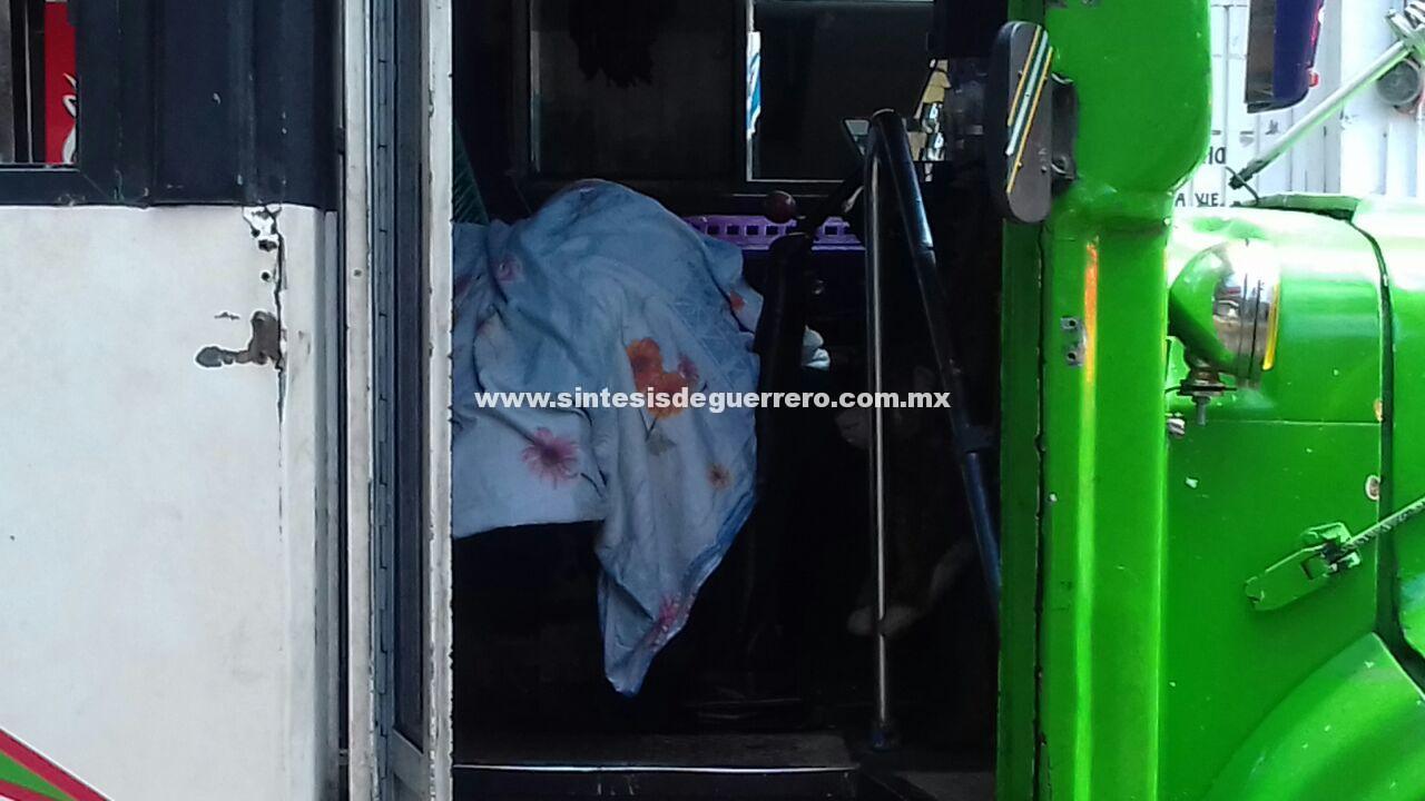 Ejecutan a conductor de camión urbano en la colonia Morelos, Acapulco