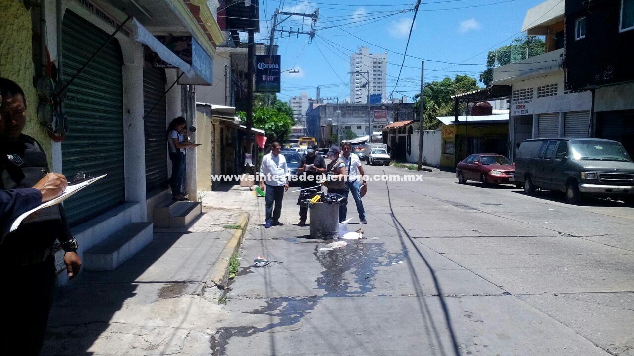 Dejan un ejecutado en la colonia Progreso, Acapulco