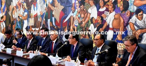 Participa Héctor Astudillo Flores en la reunión de Seguridad y Justicia de CONAGO