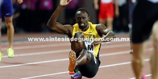 El final más cruel: Usain Bolt se lesionó y no logró terminar su última carrera