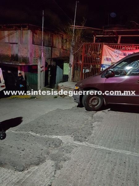Ejecutan a joven de 16 años, afuera de su casa en Chilpancingo