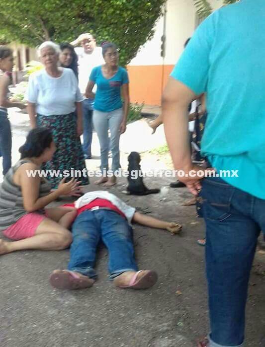 Civiles armados persiguen y ejecutan a empleado de Gasolinera de Cd. Altamirano