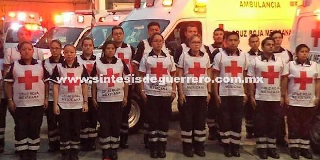 Cruz Roja Mexicana envía socorristas a Texas tras paso de Harvey
