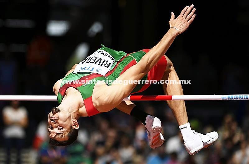 El mexicano Edgar Rivera llega a la final de salto de altura en Mundial de Atletismo