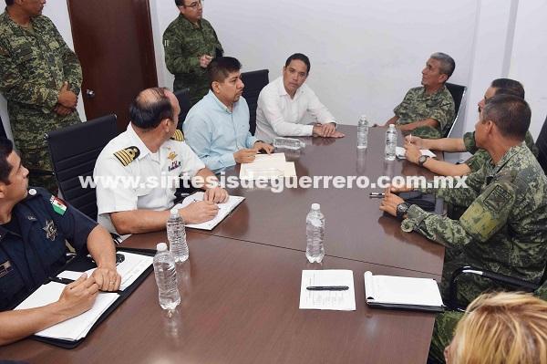 Encabeza Evodio reunión del Grupo de Coordinación Acapulco