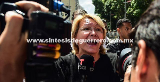 Destituyen a la fiscal Luisa Ortega en Venezuela