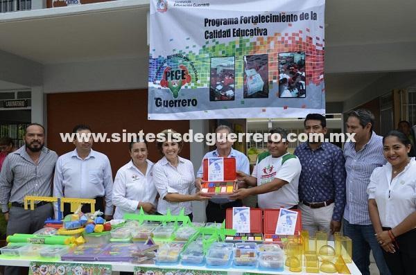 (Video) Pone en marcha Mercedes Calvo el programa de fortalecimiento de la Ciudad Educativa en Acapulco