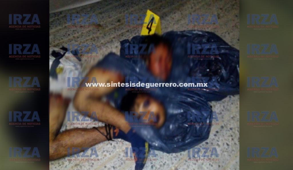 Localizan vehículo con hombre y mujer descuartizados, en Acapulco
