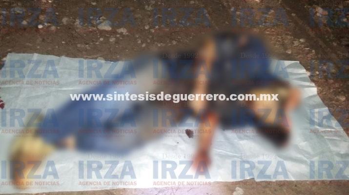 Matan en emboscada a dos hombres y una mujer, comerciantes de Alcozauca
