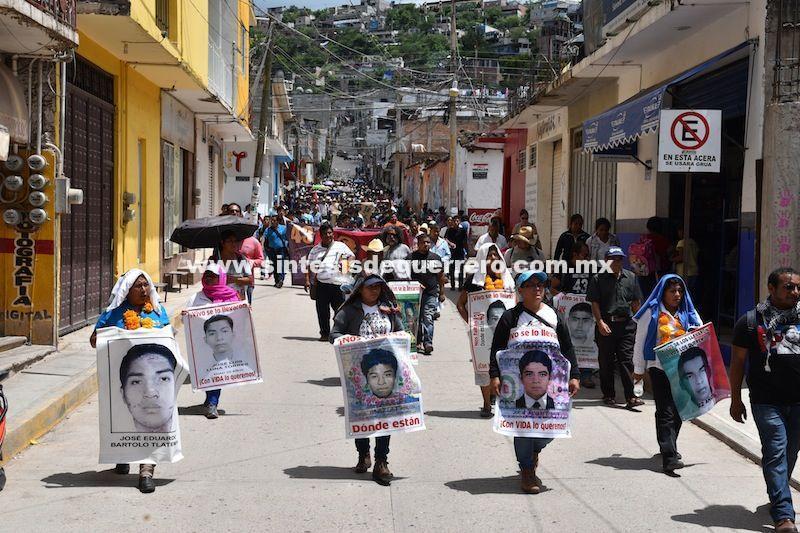 Del 15 al 26 de Septiembre, jornada de protestas a tres años de la desaparición de los 43