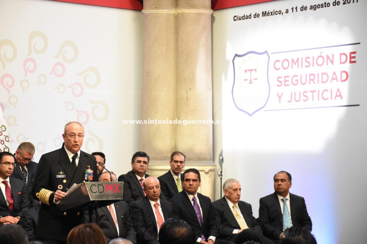 Invaluable el apoyo de fuerzas armadas para el bienestar de Guerrero: HAF