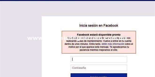 Reportan fallas en Facebook e Instagram