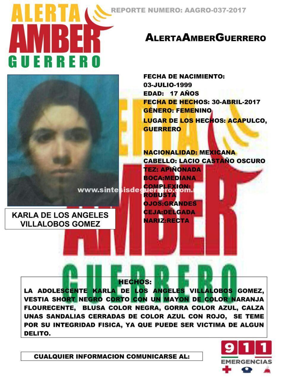 Investiga Fiscalía General del Estado paradero de la menor extraviada en Acapulco