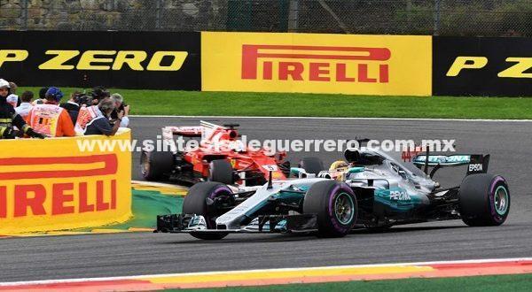 Hamilton, Vettel y Ricciardo, conquistan el Gran Premio de Bélgica