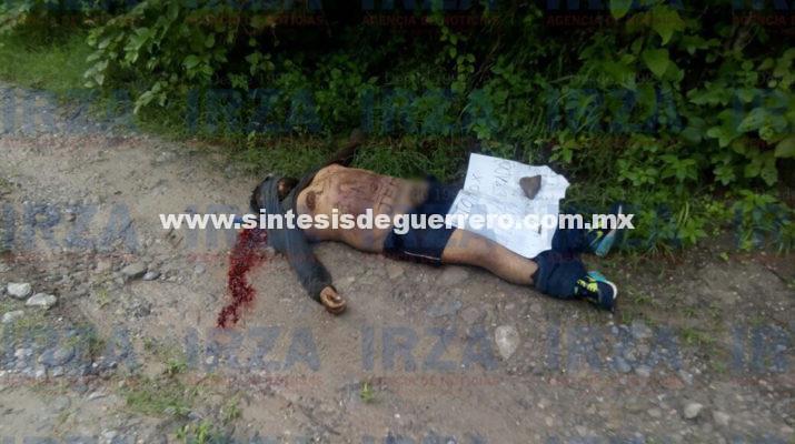 Tenía 22 años el ejecutado en la colonia Lomas del Bosque de Chilpancingo