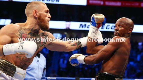 ¡Noqueó Mayweather a McGregor!