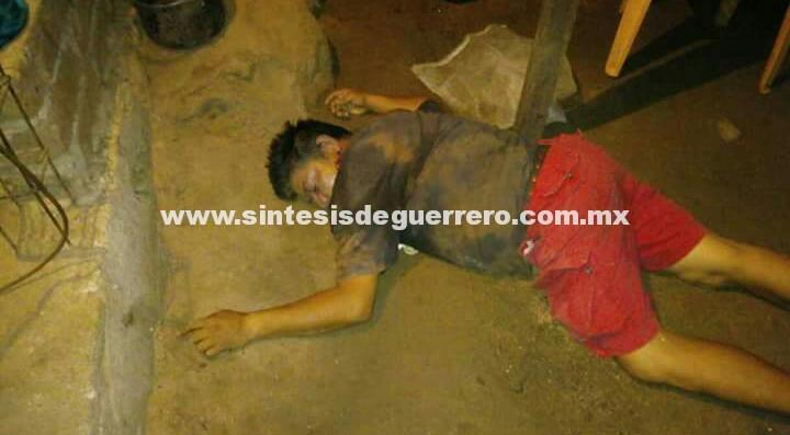 Asesinan a empleado de servicios públicos, en Petatlán
