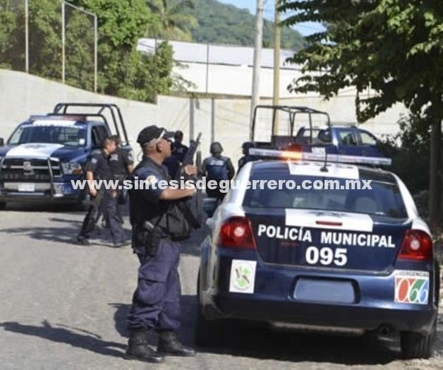 No hay fecha para el regreso de policías municipales a las calles: Tejeda