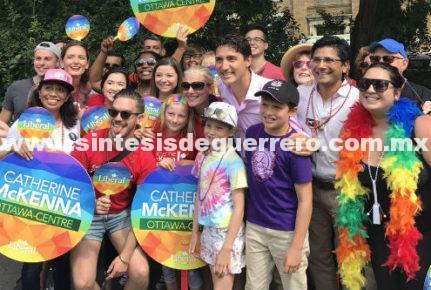 Contrario a EU, Trudeau y Ejército dan mensaje de inclusión a comunidad gay