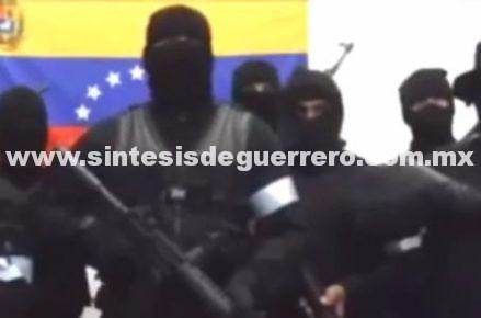 """(Video) Grupo armado llama a rebelión para """"liberar"""" a Venezuela"""