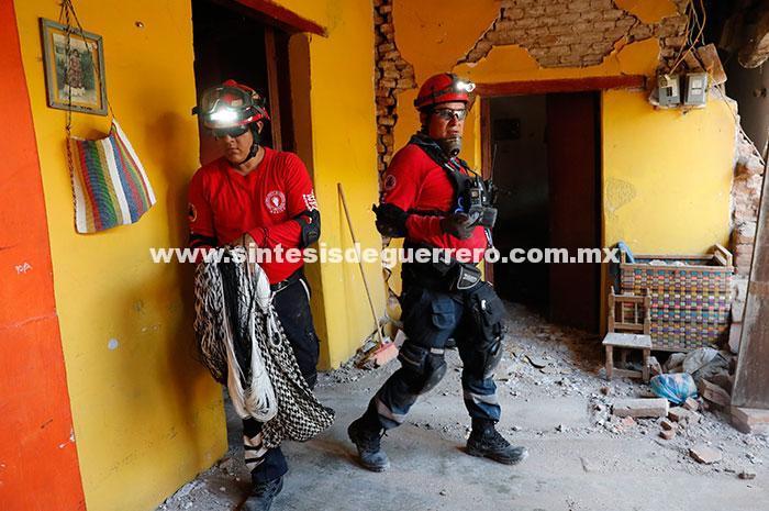 Marcadas para demoler, 971 casas en Oaxaca