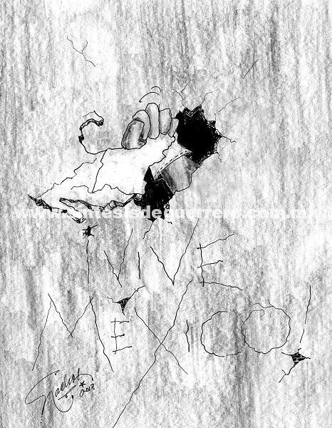 El Cartón de Nacho's: ¡VIVE MÉXICO!