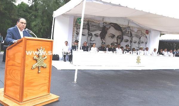 (Video) Reconoce HAF a fuerzas armadas por apoyar a Guerrero y a los que se esfuerzan por sacar adelante al país