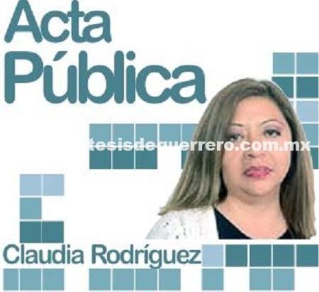 ACTA PÚBLICA: El negocio de las almas