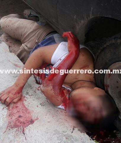 """Atacan a dos jóvenes en el centro de Chilapa; muere uno y el otro fue """"levantado"""""""