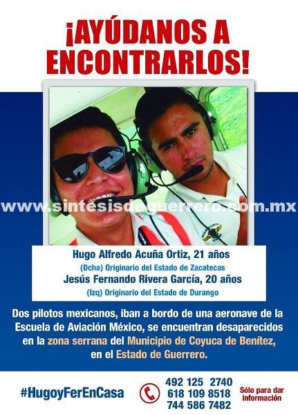 Amplían zona de búsqueda de la avioneta Cessna desaparecida en la sierra de Atoyac de Álvarez