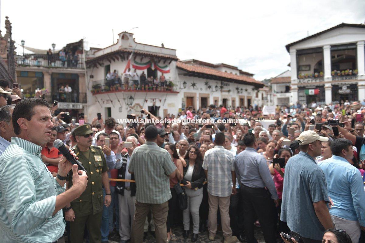 Peña Nieto: En cuatro meses estarán reconstruidas las viviendas afectadas por los sismos del 7 y el 19 de septiembre pasados